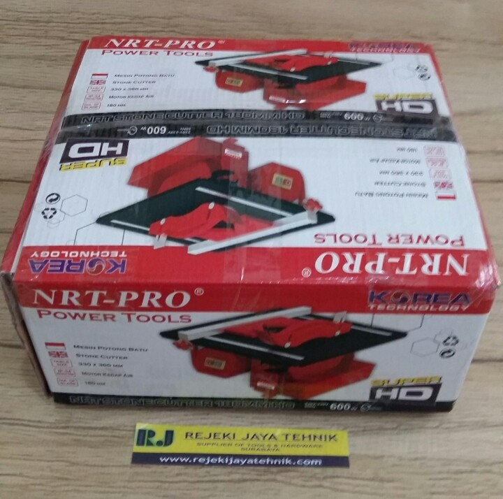 Mesin Potong Batu Table Stone Cutter 180mm HD NRT-Pro