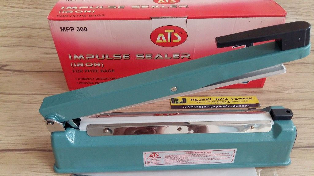 Impulse Sealer Alat Press Plastik ATS MPP-300 30cm