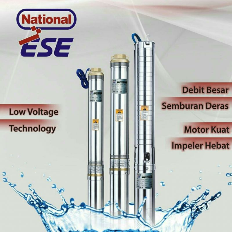 Pompa Celup Submersible Pump Ese National 3 SDK