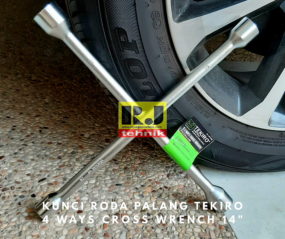 Kunci Roda Palang Tekiro 4 Ways Cross Wrench 14