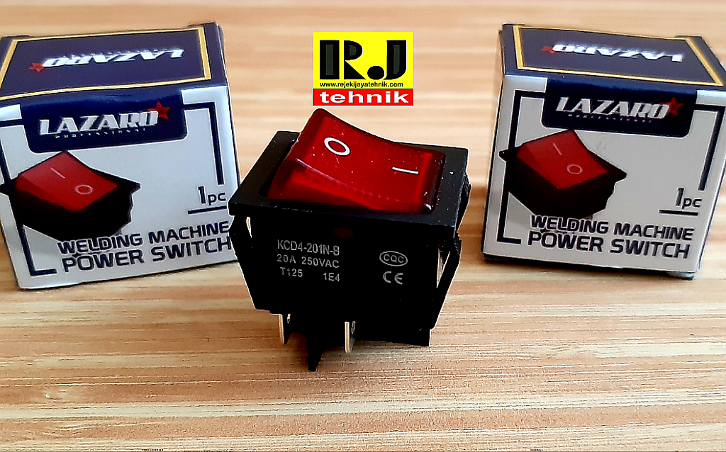Power Switch Saklar On Off Mesin Las Welding Machine Lazaro Spare Part Mesin Las