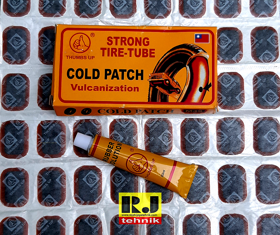 Alat Tambal Ban Tip Top Cold Patch Vulcanization Tube Repair Strong Tire Tube Thumbs Up M48