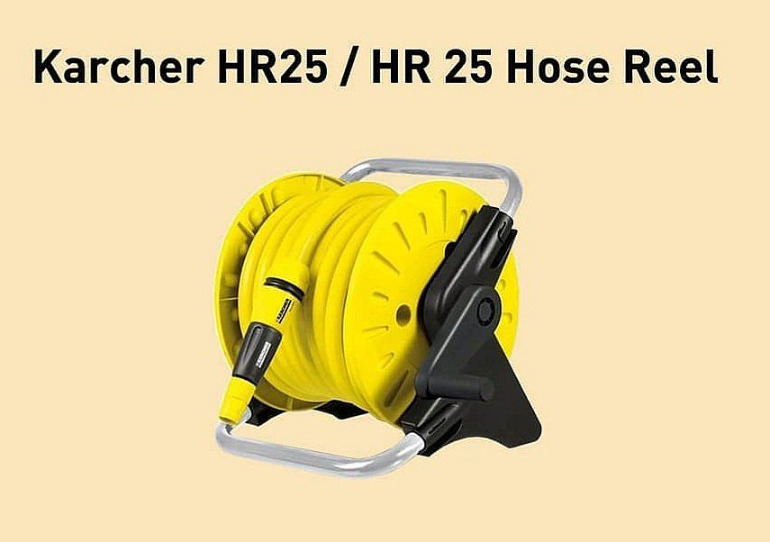 Semprotan Air Dan Selang Set Hose Reel Karcher HR25
