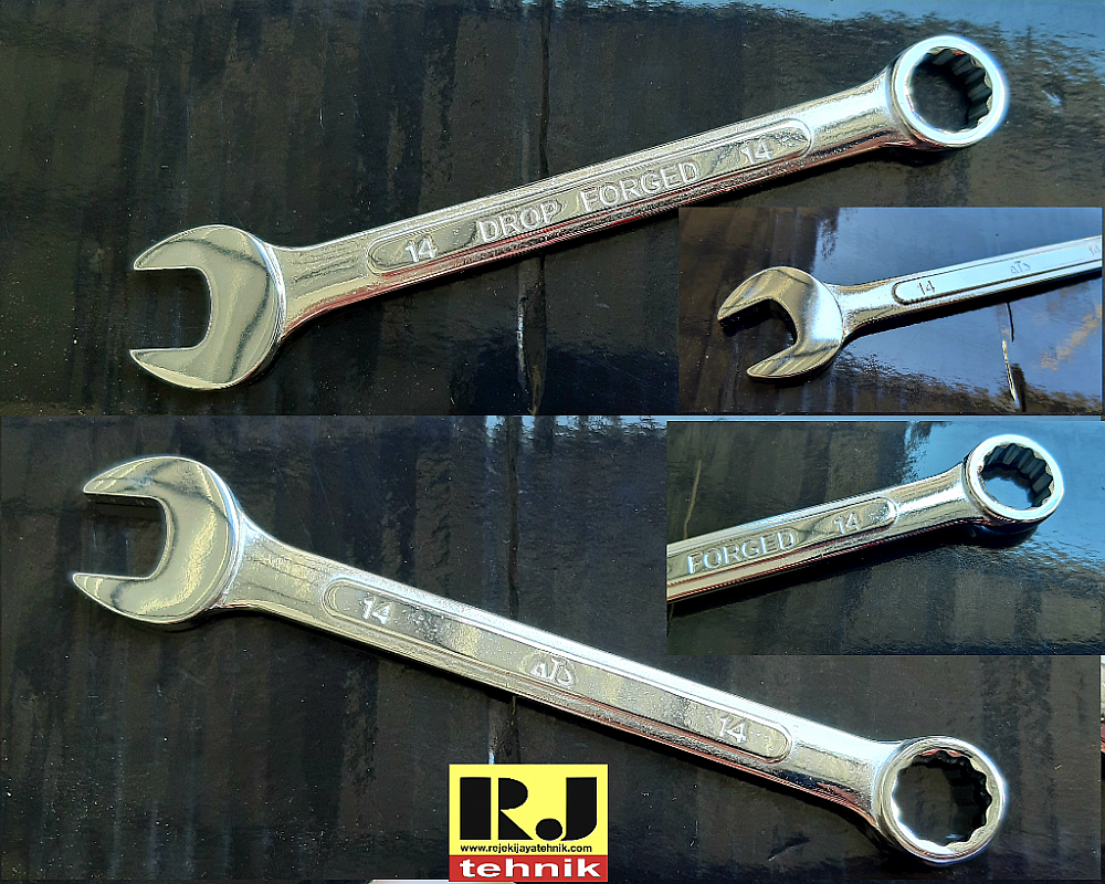 Kunci Ring Pas Combination Spanner ATS 14mm