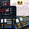 Alat Reparasi Perkakas Servis Jam / Elektronik Tools Set 16 in 1 Watch Repair